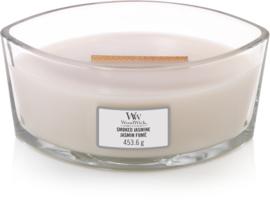 Woodwick Smoked Jasmine Ellipse Candle