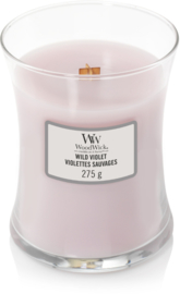 Wild violet medium woodwick