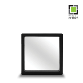 Pakket zwart 11 x 11 cm: 10 stuks