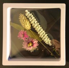 30 pieces white 11*11 cm