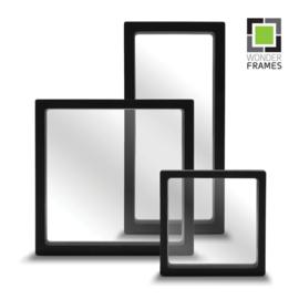 Set black Wonder Frames: 30 pieces 11*11cm, 20 pieces 23*11 cm and 10 pieces 18*18 cm