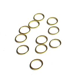 Beadalon ronde platte ring 12 mm