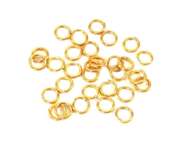 Montagering goud  6x0,9 mm
