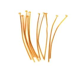 Nietstift  goud 4,5cm