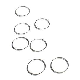 Ronde platte ring 20  mm