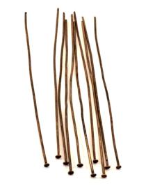 Nietstift bronze 7 cm