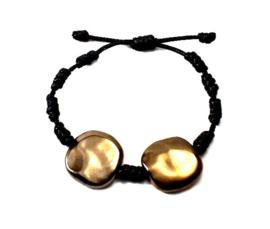 Franciscaans geknoopte armband