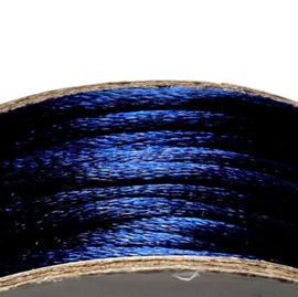 Satijnkoord 2mm marineblauw