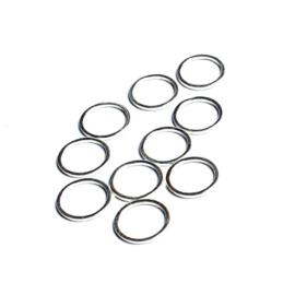 Beadalon ronde platte ring 12mm