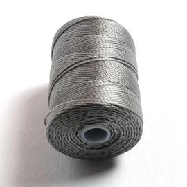 C-lon bead cord grijs 0,5mm