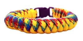 Slangenknooparmband  regenboog