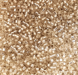 Miyuki delica silverlined crystal
