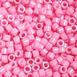 Miyuki Delica  opaque dyed carnation pink