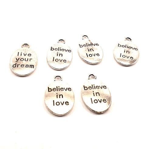 Believe in love ovaal