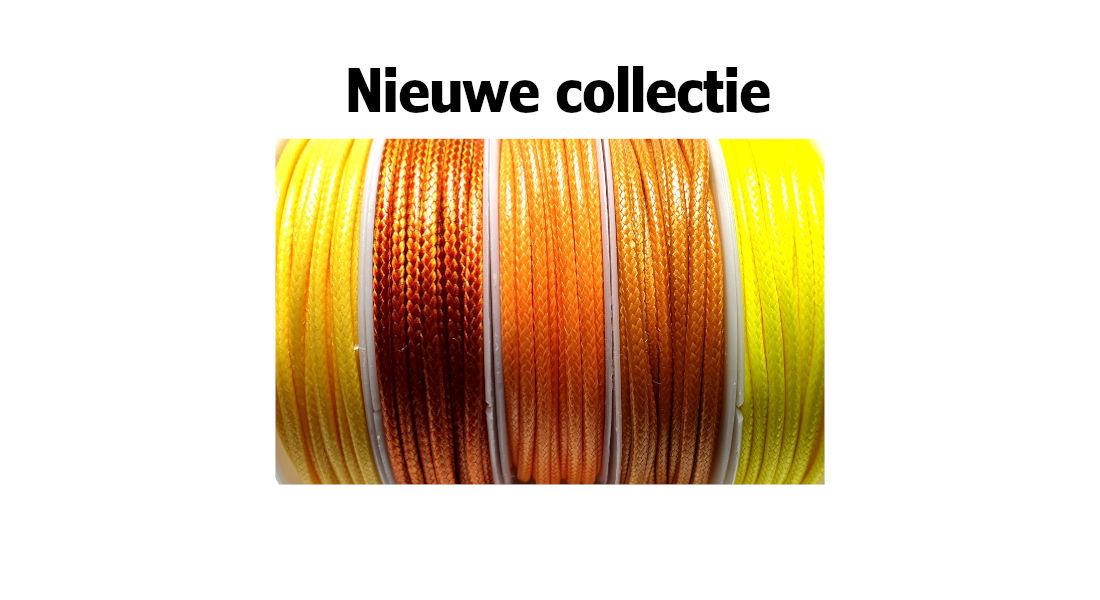 Nieuwe waxkoorden in diverse kleuren