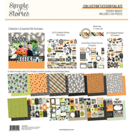 Simple Stories - Spooky Nights collector's essential kit