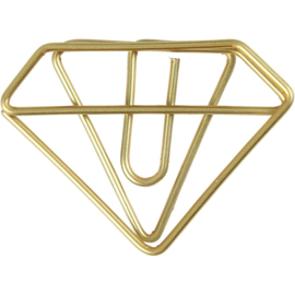 Paperclips goud - diamant
