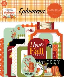 Echo Park - Welcome Autumn Ephemera