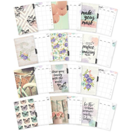 Bliss tabbladen monthly inserts