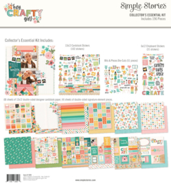 Simple Stories - Hey Crafty Girl collectors essential kit