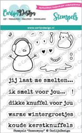 Carlijn Design - Sneeuwpop