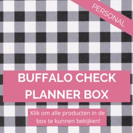 Buffalo Check personal planner box