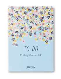 Ditsy Floral A5 Daily Planner Pad