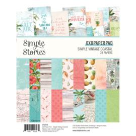Simple Stories - SV Coastal 6x8 paper pad