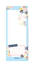 Ditsy Floral Magnetic To Do List Pad