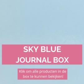 Sky Blue journal box