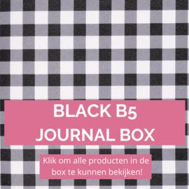 Black B5 journal box