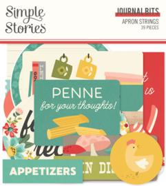 Simple Stories - Apron Strings Journal Bits & Pieces