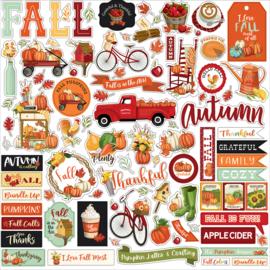 """Echo Park - Welcome Autumn 12"""" stickervel"""