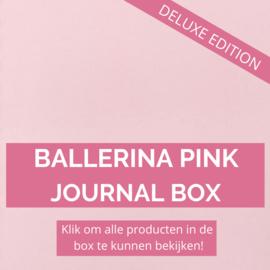 Ballerina Pink Deluxe journal box