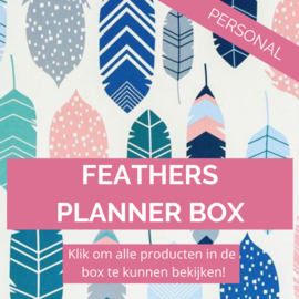 Feathers personal planner box