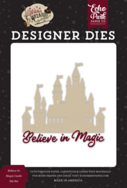 Echo Park Witches and Wizards 2 Believe in Magic Castle die set