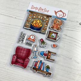 Time for Tea - Home Sweet Home clear stamps