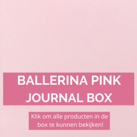 Ballerina Pink journal box