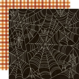 Simple Stories - Boo Crew Happy Haunting Double Sided 12x12""
