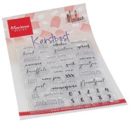 Marianne Design - Kerst Post by Marleen (NL)