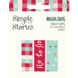 Simple Stories - Holly Days washi tape