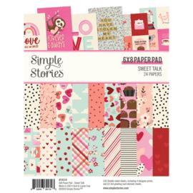 Simple Stories - Sweet Talk 6x8 paper pad