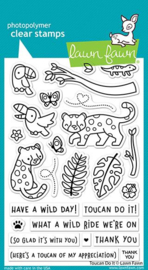 Lawn Fawn - Toucan Do It clear stamps