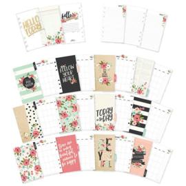 Bloom tabbladen monthly inserts