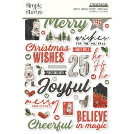 Simple Stories - Rustic Christmas stickerboek