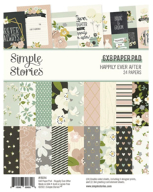 Simple Stories - Happily Ever After 6x8 paper pad
