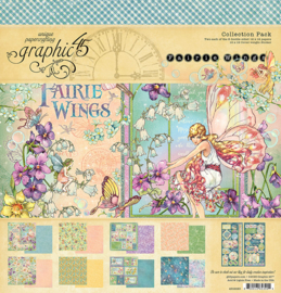 Graphic 45 Fairie Wings 12x12 Inch Collection Pack