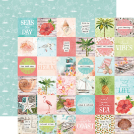 """Simple Stories - SV Coastal 2x2 Elements Double Sided 12"""""""