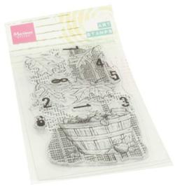 Marianne Design - Clear Stamps Harvest