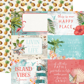 """Simple Stories - SV Coastal 4x6 Elements Double Sided 12"""""""
